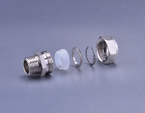Brass Fitting For Stainless Steel Bellows-Male Socket TD903