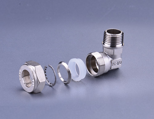Brass Fitting For Stainless Steel Bellows-Male Elbow TD909