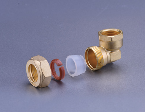 Brass Fitting For Stainless Steel Bellows-Female Elbow TD916