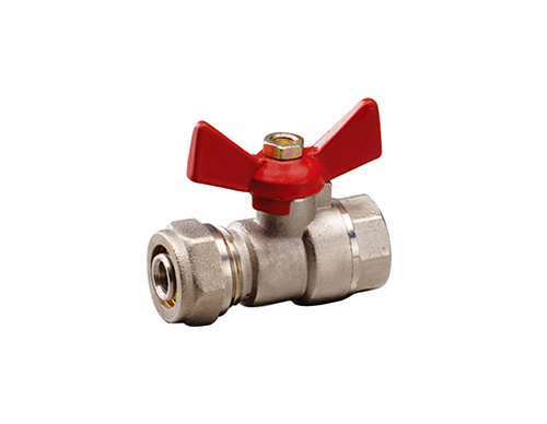 Brass Compression Ball Valve