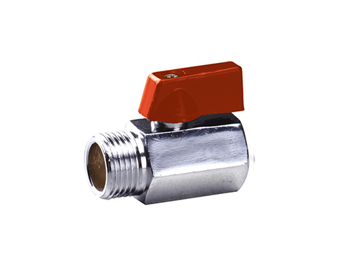 Products-Brass Mini Ball Valve F/F C.P.